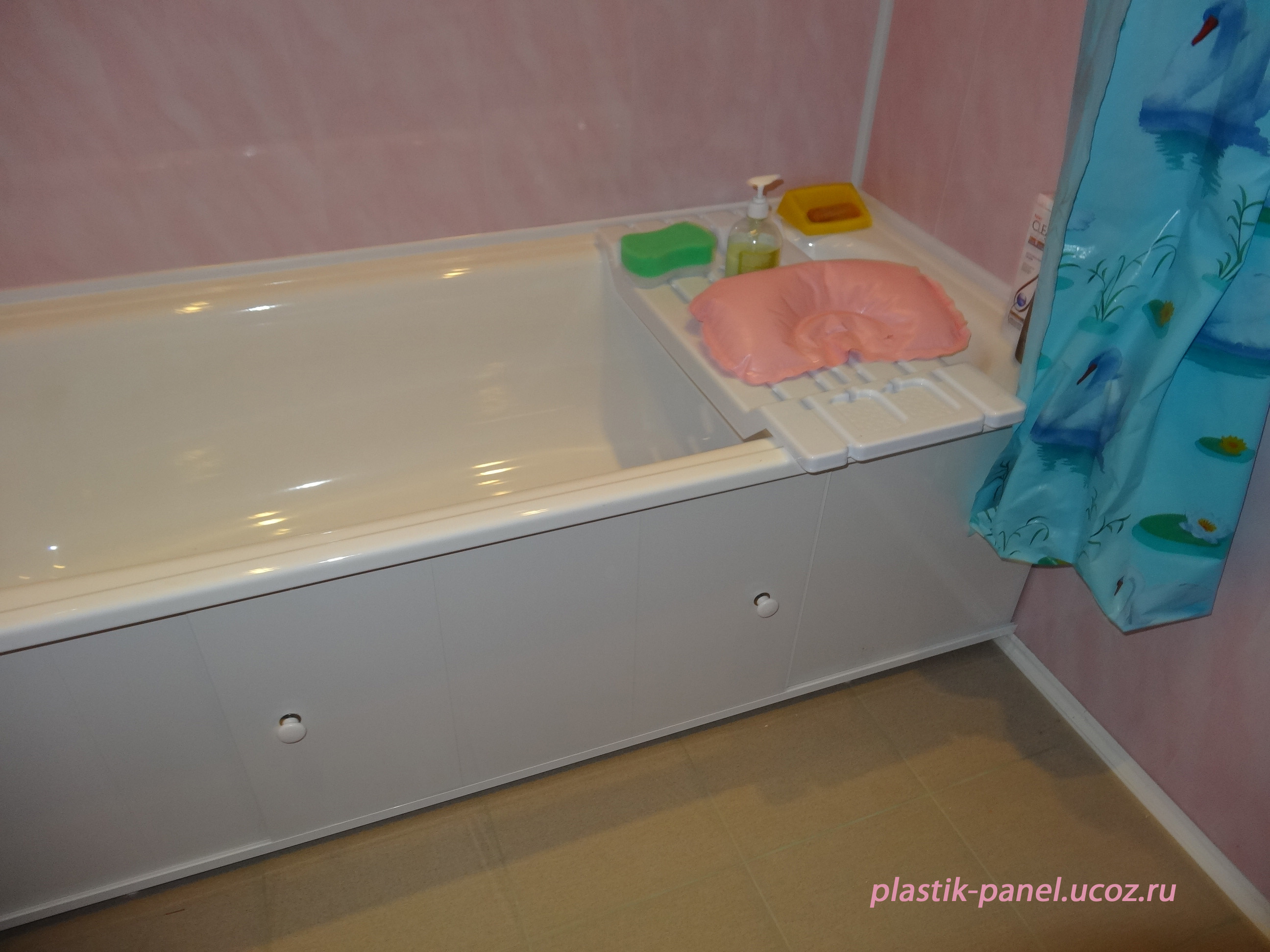 Как сделать экраны для ванны из пвх