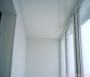 Подвесные потолки и стены пластиковыми панелями