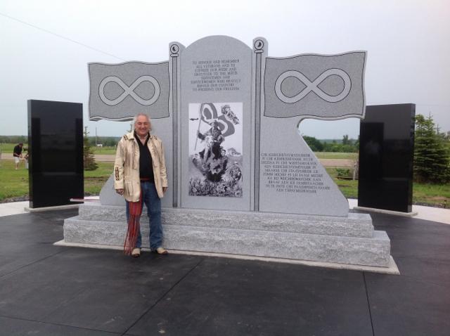 Metis Veterans Memorial Monument