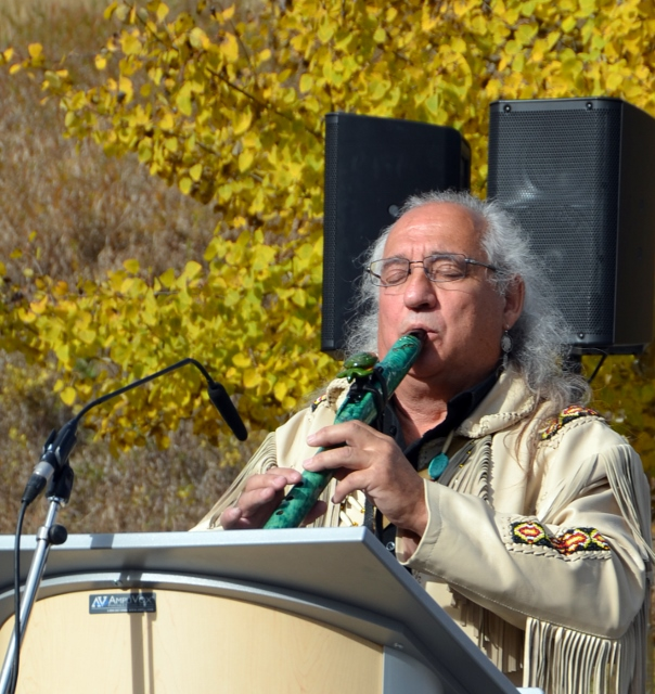 Playing the Native Flute