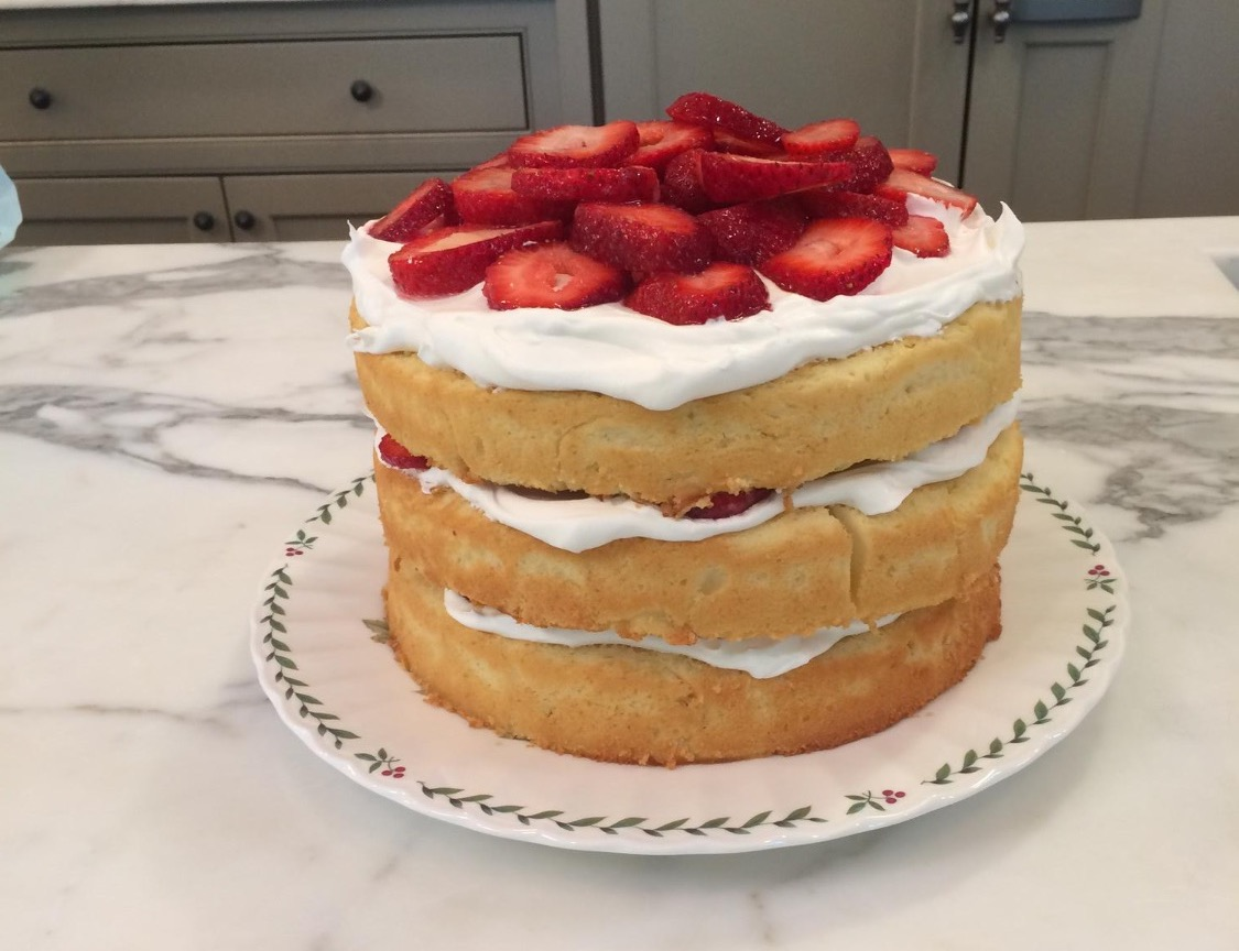Strawberry Shortcake | thechrisleykitchen