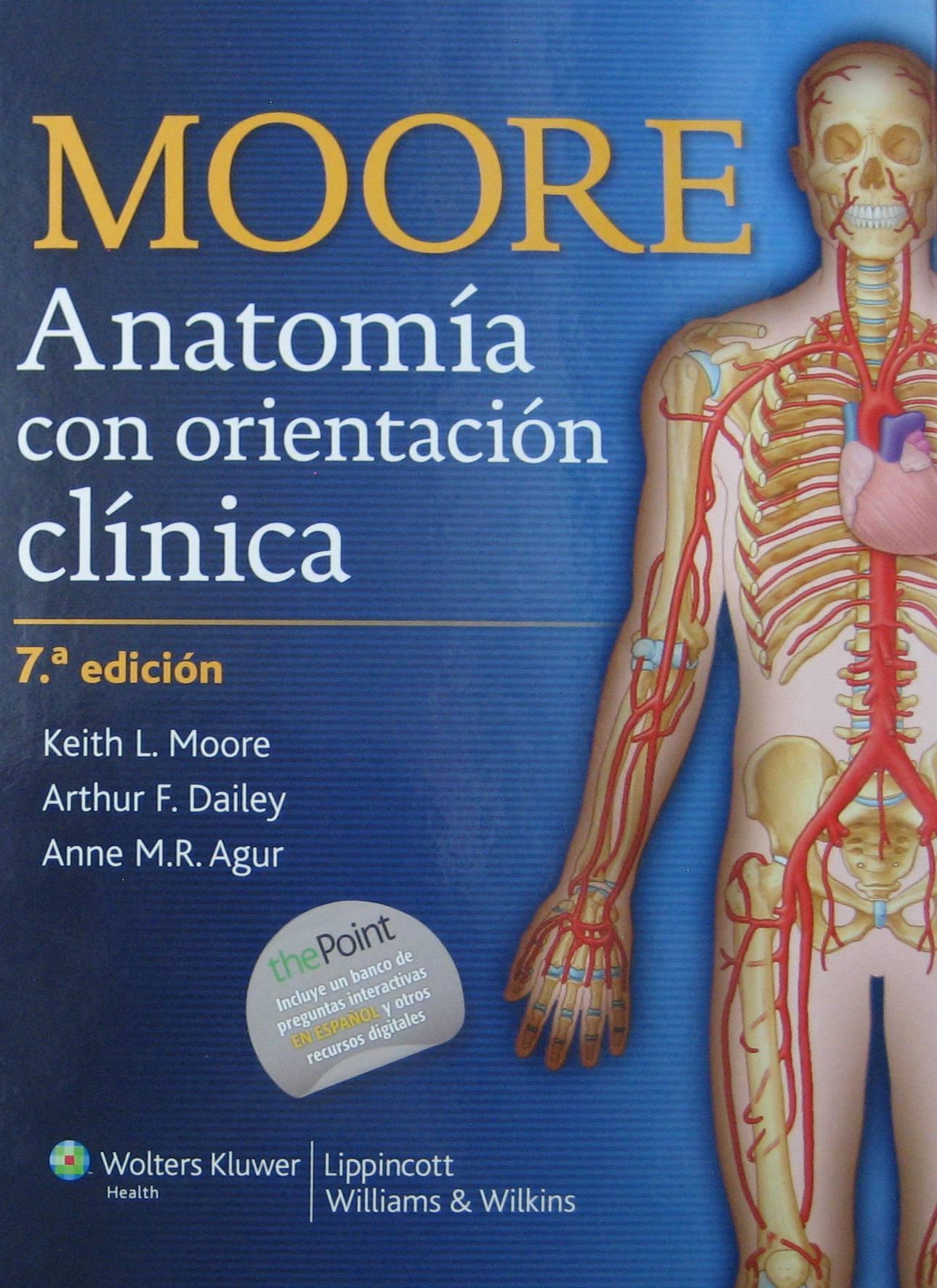 MOORE - Anatomía con orientación clínica (PDF original ...