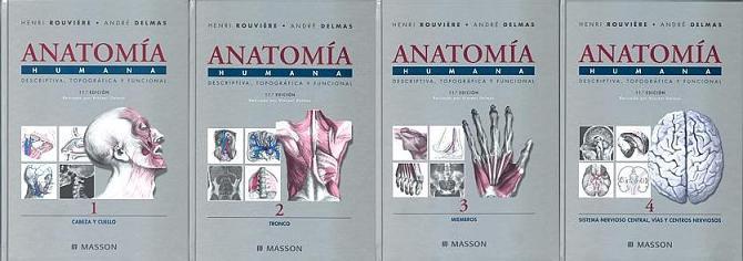 ANATOMIA ROUVIERE TOMO I-IV (MEGA) NO TRUE PDF | librosmedicosfree