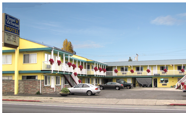 Royal Victorian Motel in Port Angeles Washington