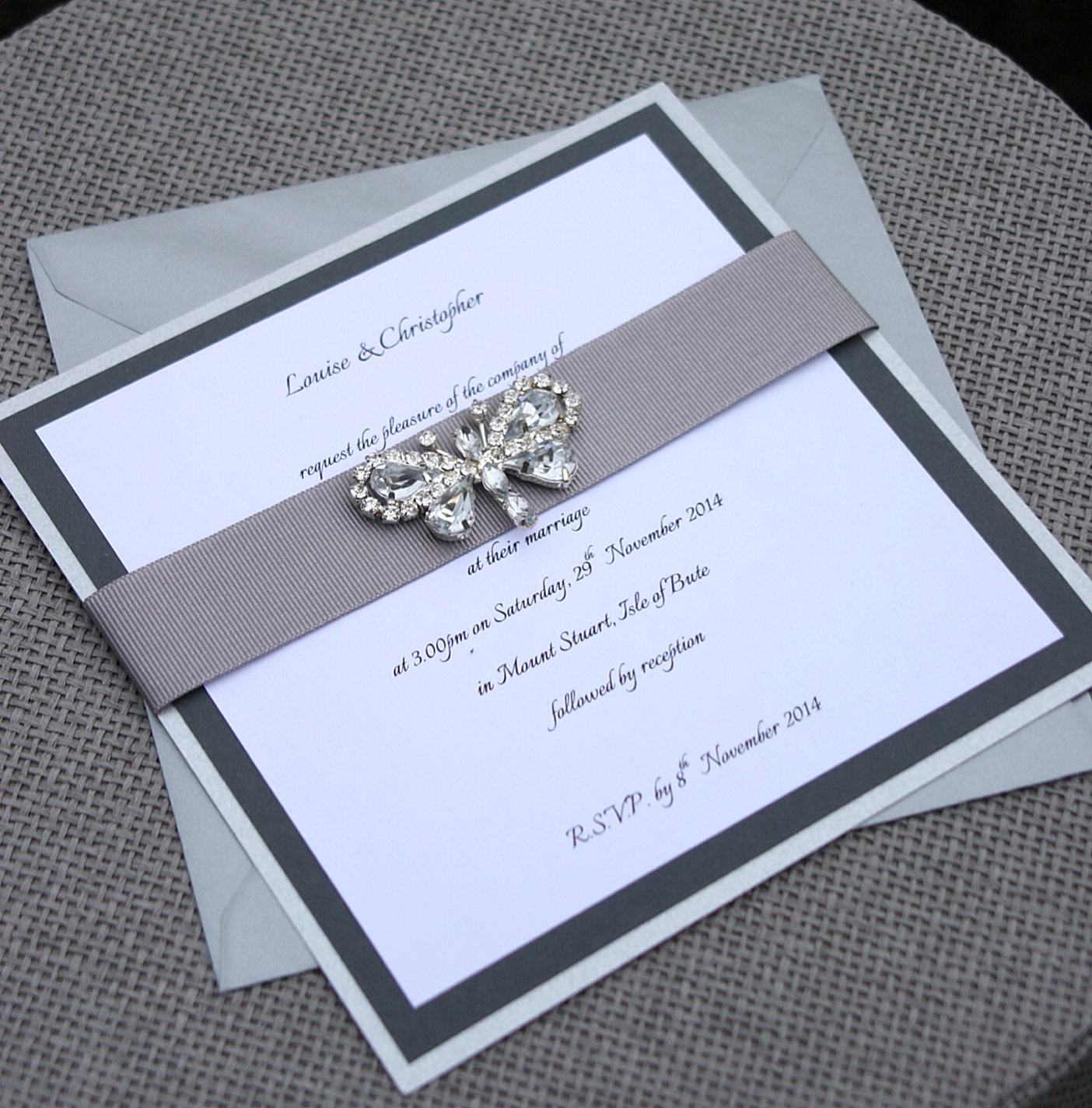 Wedding Invitations Butterfly with adorable invitation example