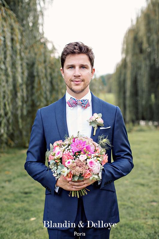 Costume mariage champêtre