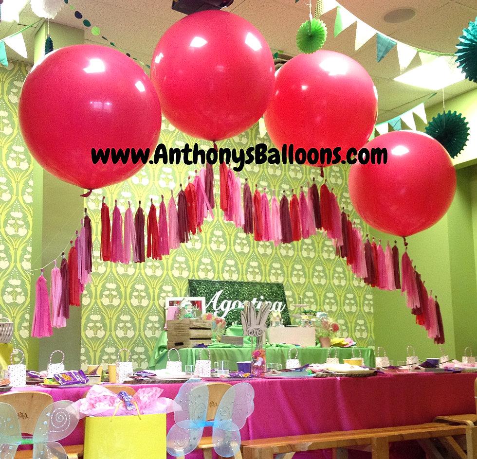 Chicago balloon decor for Balloon decoration chicago
