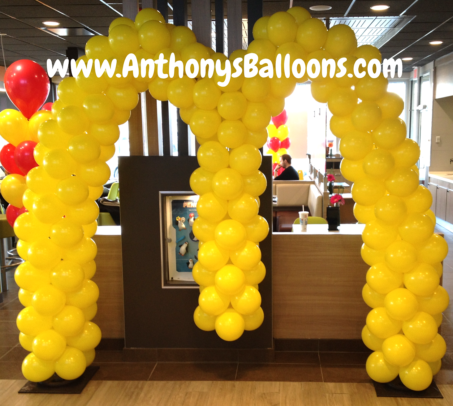 Arch Of Balloons