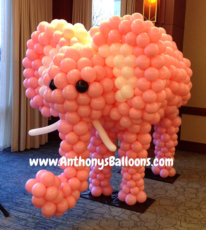 Custom balloon sculptures chicago balloon decor for Candy cane balloon sculpture