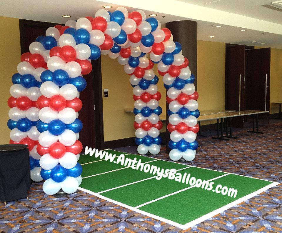 Custom balloon walls balloon tunnels chicago balloon decor for Balloon decoration chicago