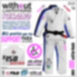 Support Para Jiu Jitsu Gi
