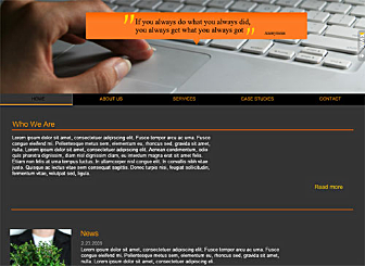 Market Mentor Template - This high quality Flash template will help you increase your online presence. Add your unique text, corporate colors and images with our easy to use editor and when you are ready get online in a Flash with our publishing wizard.