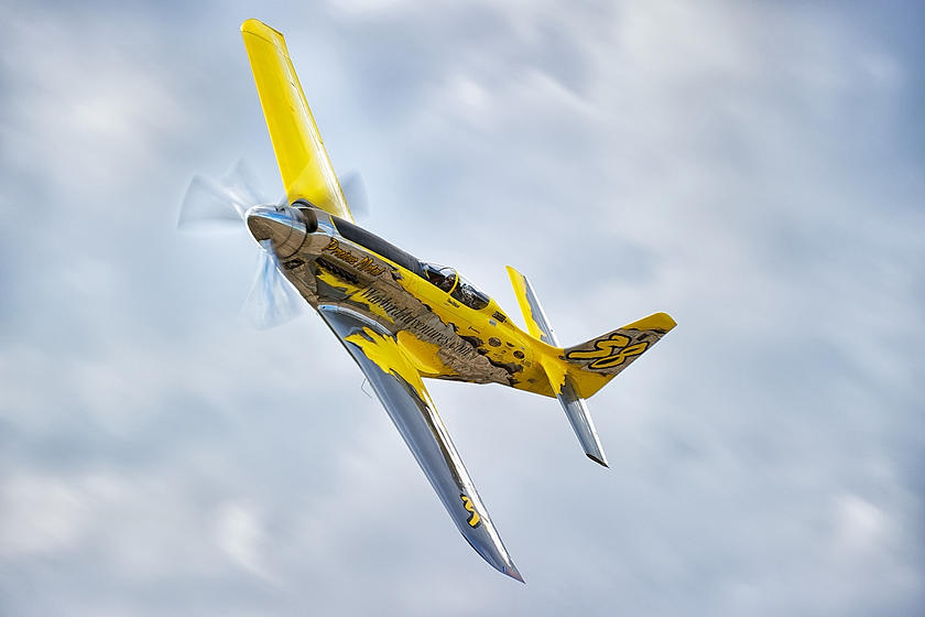 P-51 Mustang Precious Metal