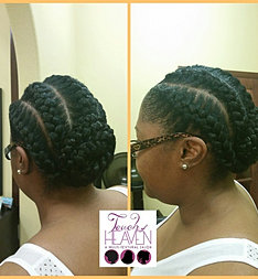 Touch of heaven salon braids for A touch of heaven salon
