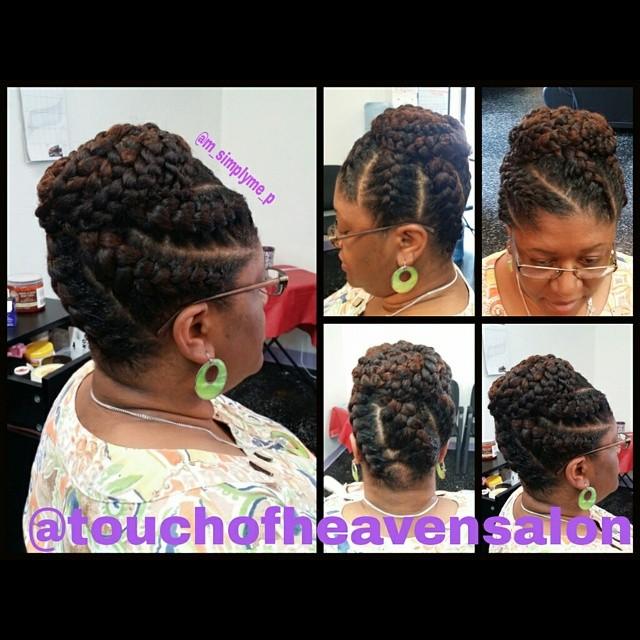 Touch of heaven salon goddess braids for A touch of heaven salon