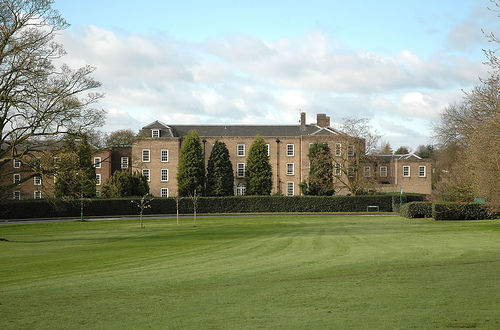 F. Boot Hall from Trent lawn