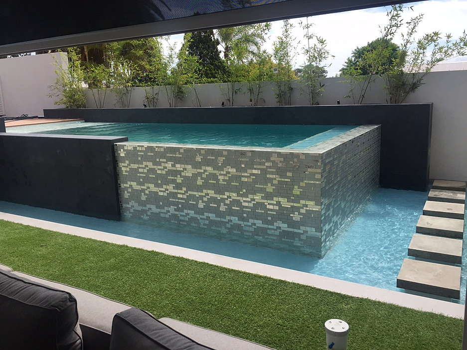 Perth concrete pools award winning quality at an for Concrete inground pools