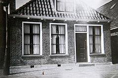 A casa onde viveu a infância