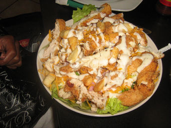 chef's salad the fat tuesday way