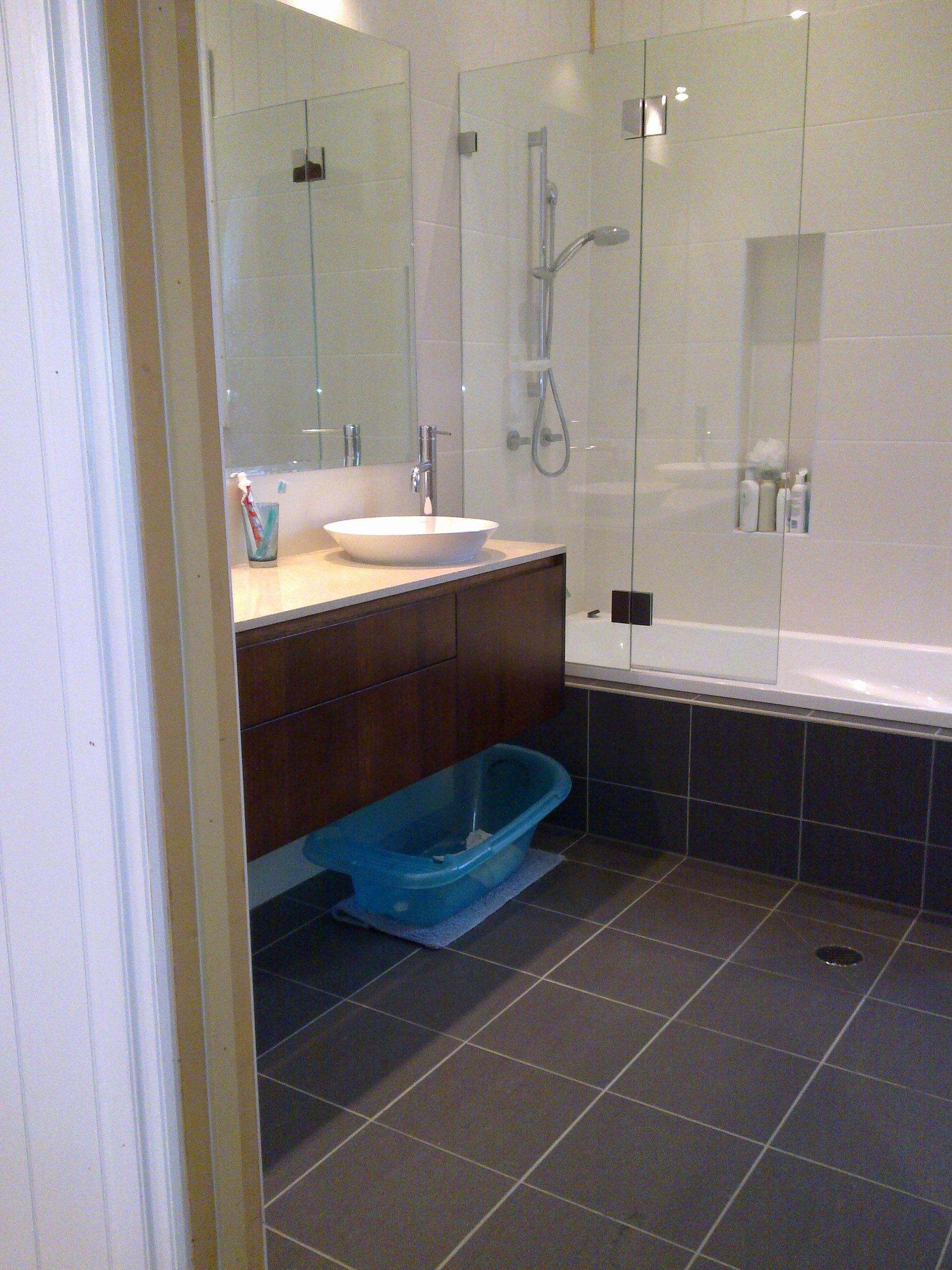 Full bathroom installation - Cardinal Point Full Bathroom Installation