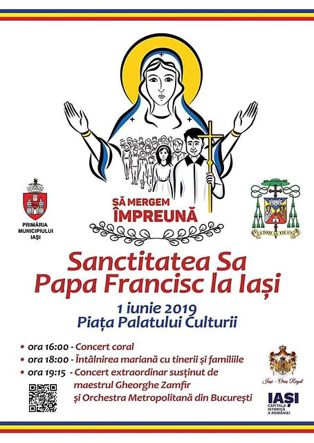 Pope Francis in Iasi
