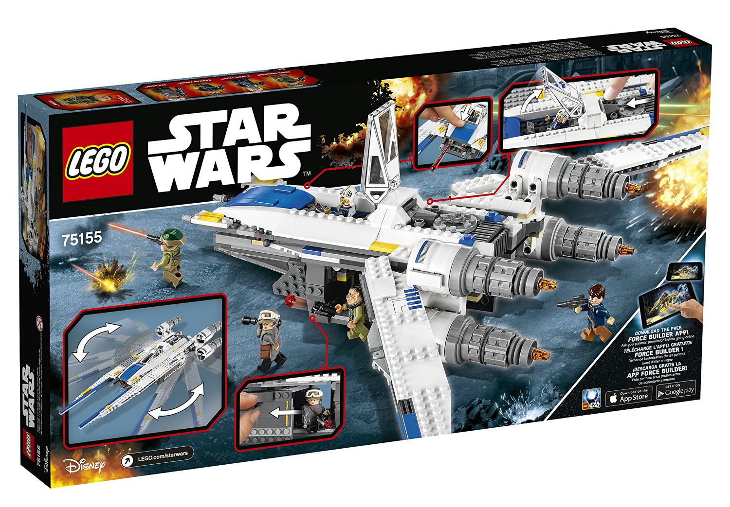 Lego Star Wars Rebel U Wing Fighter Oppenheim Toy Portfolio