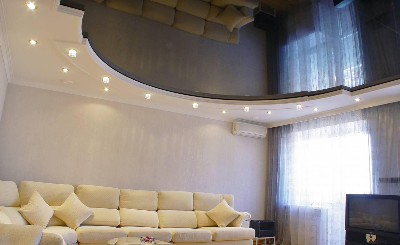 Натяжные потолки с дизайном цена