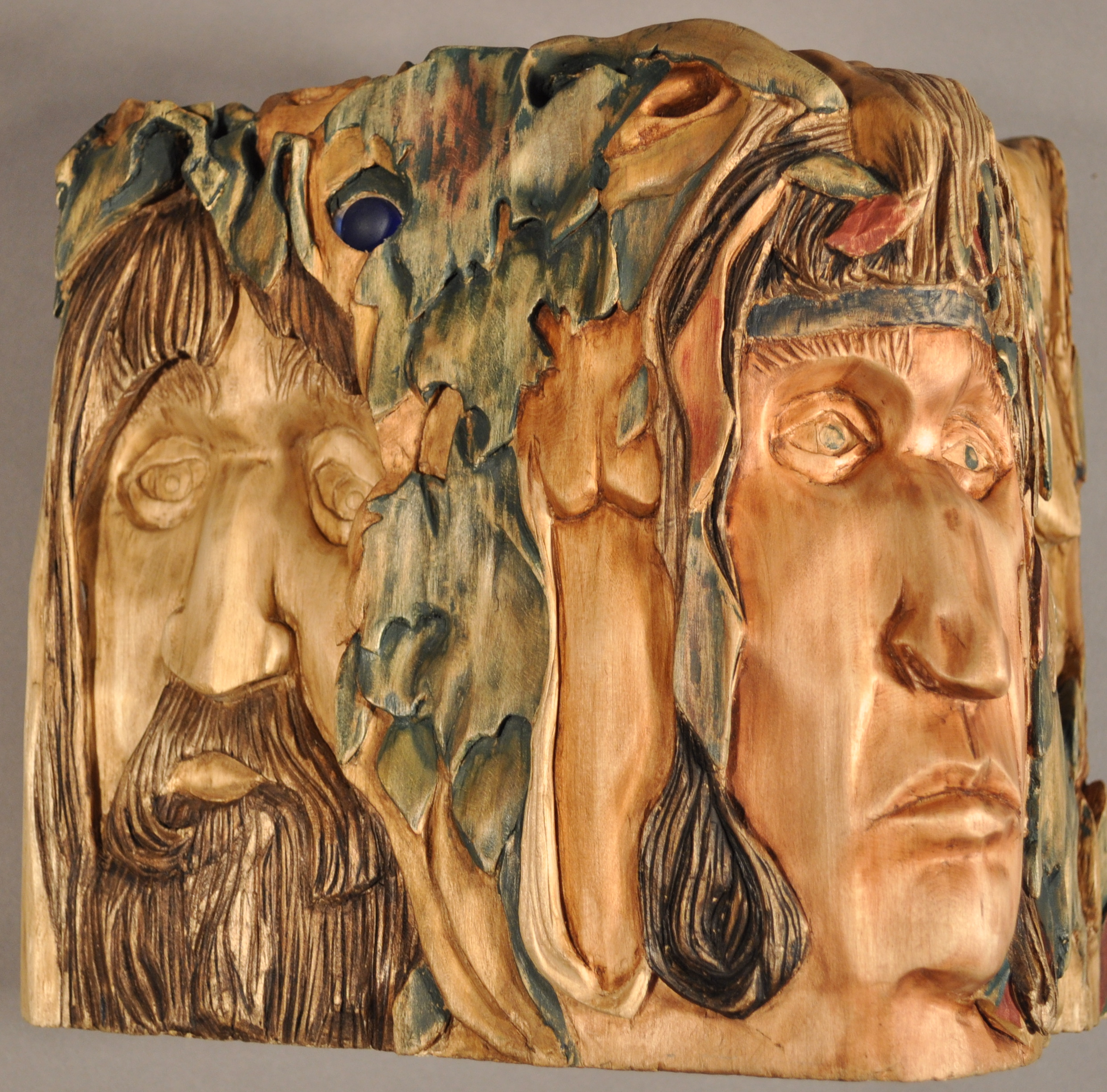 The Wood Orphans Design | The Wood Spirits - Carving