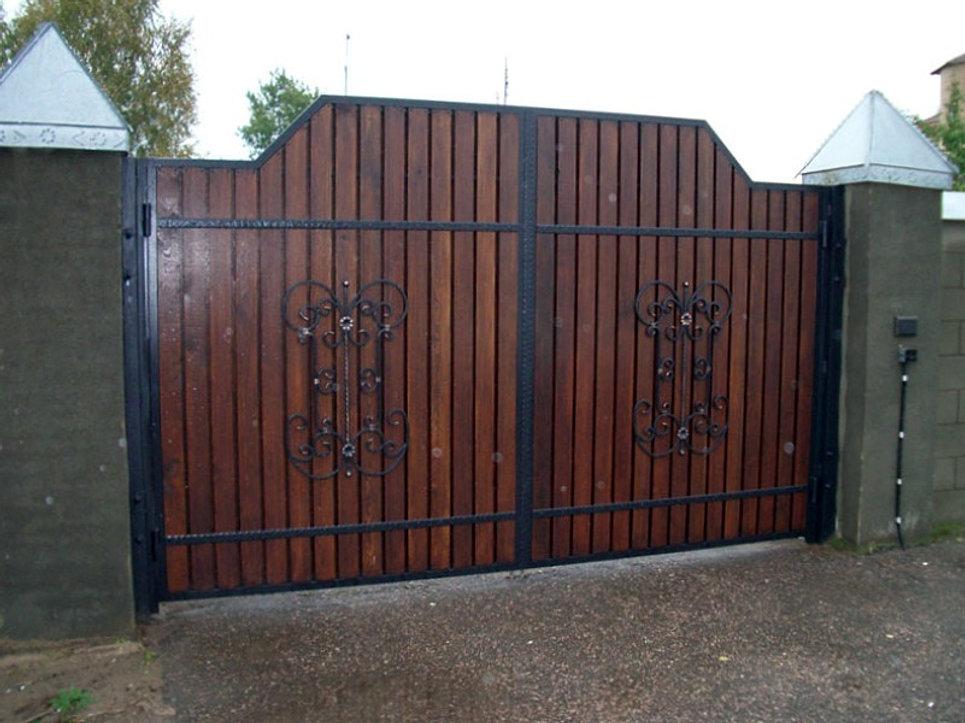 купить ворота для дачи великий новгород