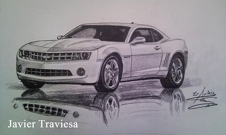Camaro para dibujar a lapiz - Imagui