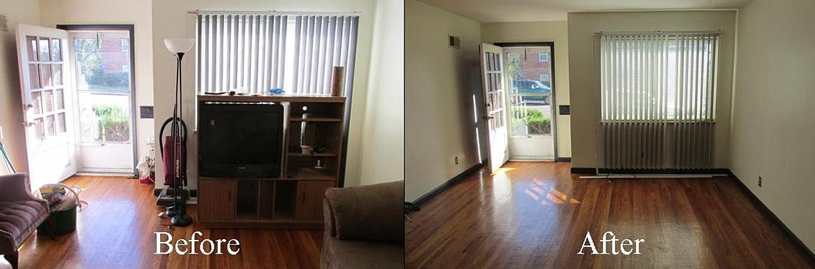 Living Room Before N After 1