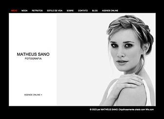 Estúdio Fotográfico Template - Este website em HTML é o sonho de todo fotógrafo.