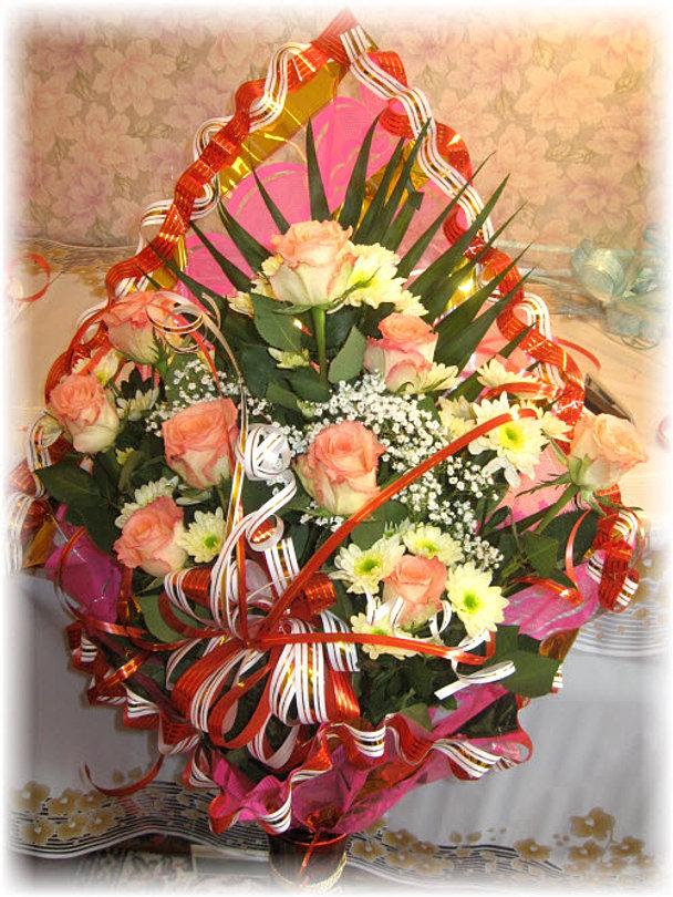 Оформление цветов своими руками букеты