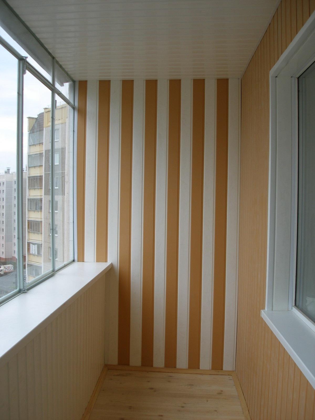 Остекление и обшивка балконов и лоджий vipdecor.