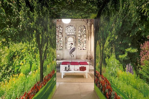 ingresso artistic charming house caserta