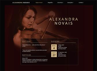 Música Clássica Template - Uma sinfonia de design traz harmonia a este site em HTML. Adicione suas imagens, música e texto para personalizar totalmente ao seu estilo. Atualize e edite com facilidade. Fique online hoje e crie seu site!