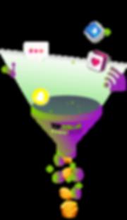 Funnel Top Dollar Hub smart affiliate link sistem of how to monetize your social media