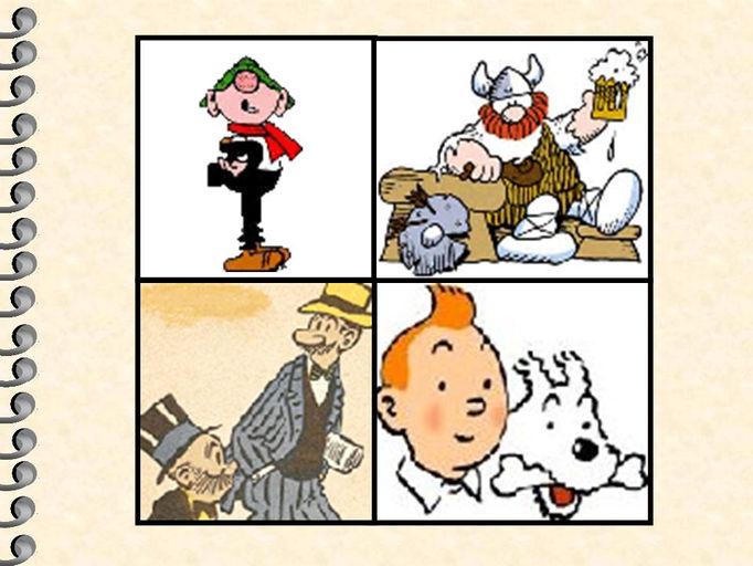 ANDY CAP, OLAFO, BENITIN & ENEAS, TINTIN