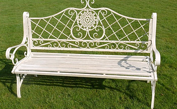 find attractive traditional wrought iron garden furniture perfect for all weathers or go more contemporary with some of our stylish wooden garden benches
