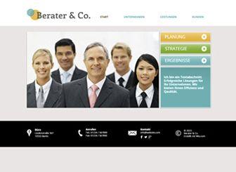 Berater Template - Diese ansprechende Website-Vorlage eignet sich perfekt für Berater und verwandte Branchen. Stellen Sie Ihre Leistungen, Strategien und Mitarbeiter vor. Fotos und Texte hinzufügen, Design anpassen und Ihr Unternehmen zum Erfolg bringen!