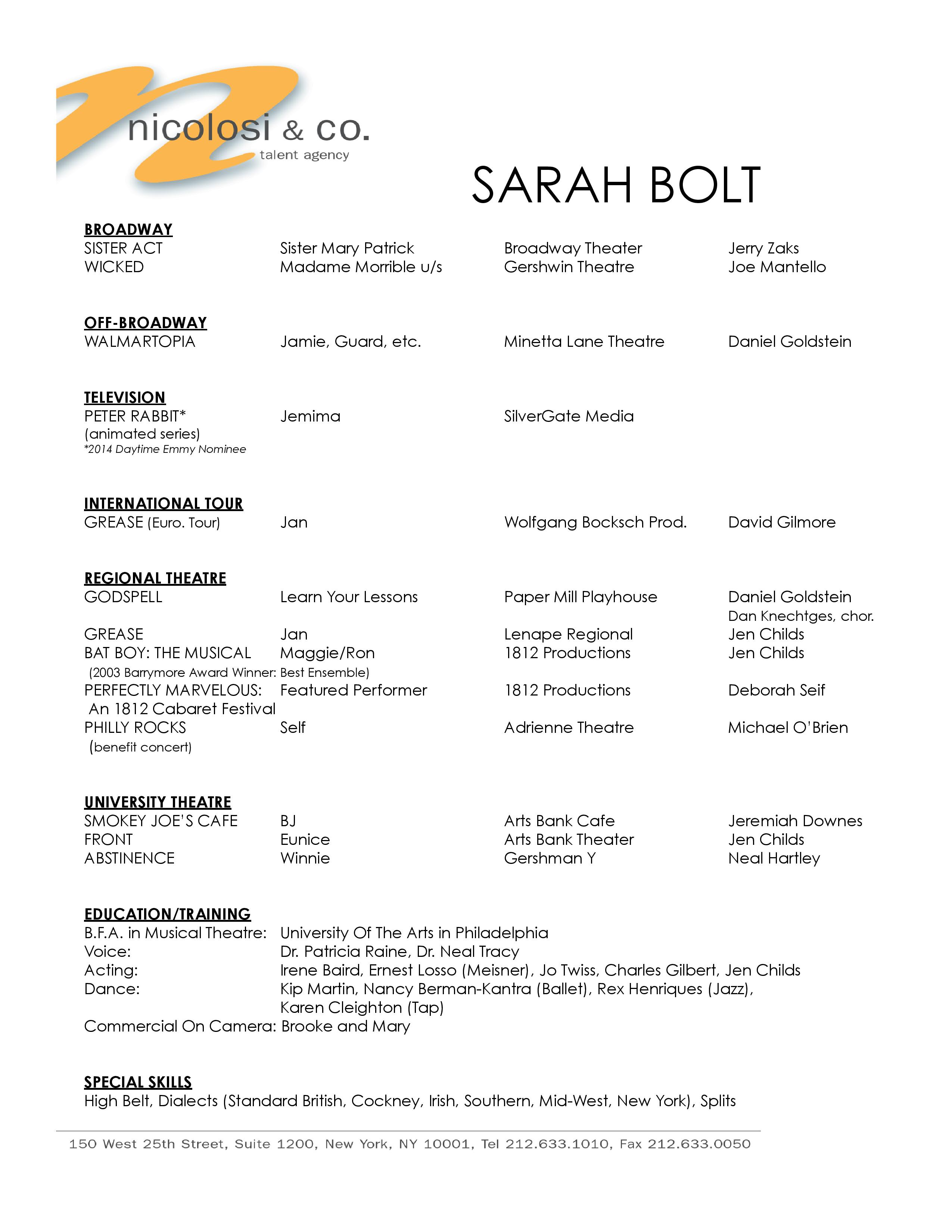 voice over resume