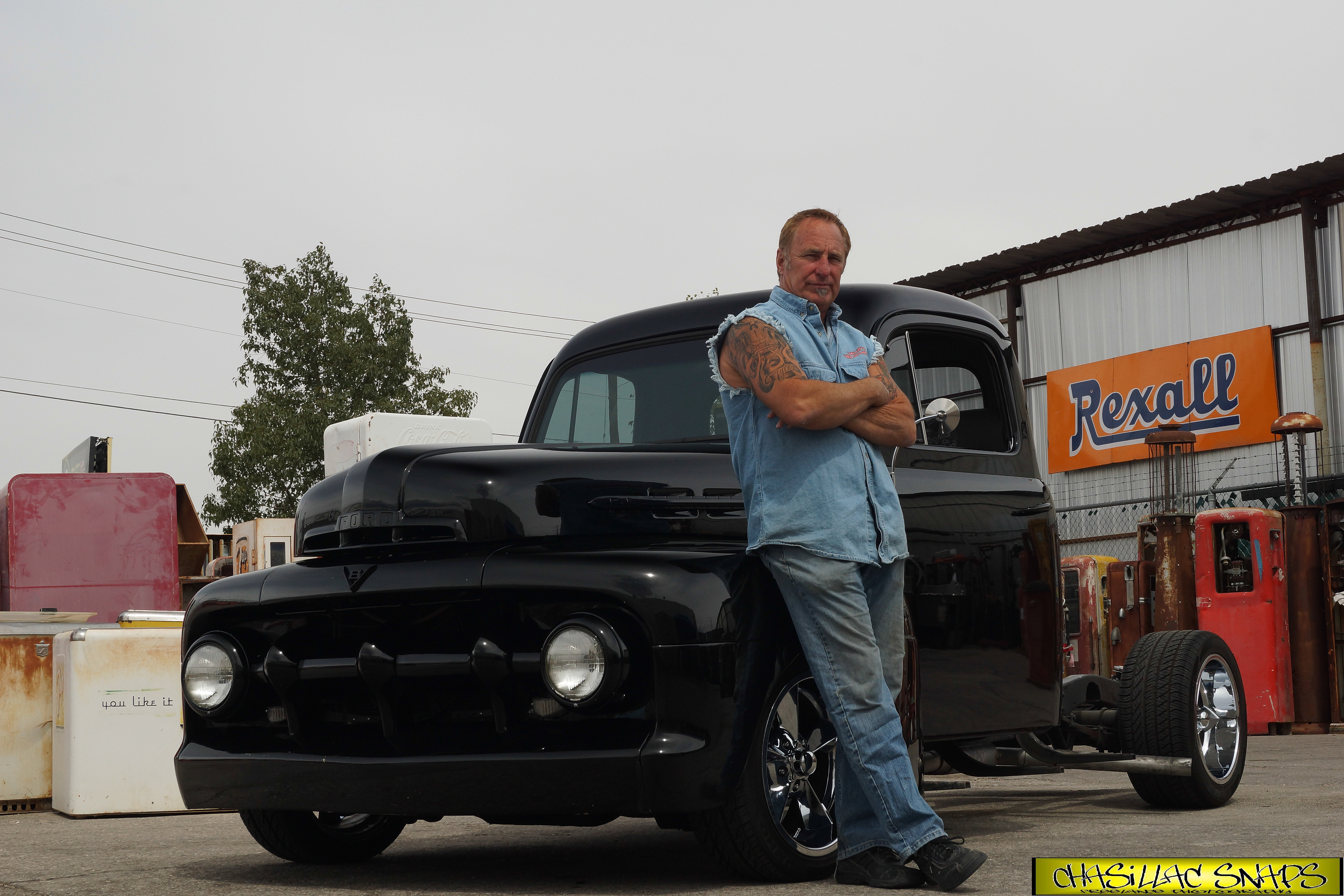 Jc Lewis Ford >> Charlie Lewis Chasillac Snaps Freelance Photograph | Rick Dale And his 1951 Ford F1 Pu