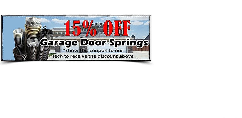 garage door repair coupons