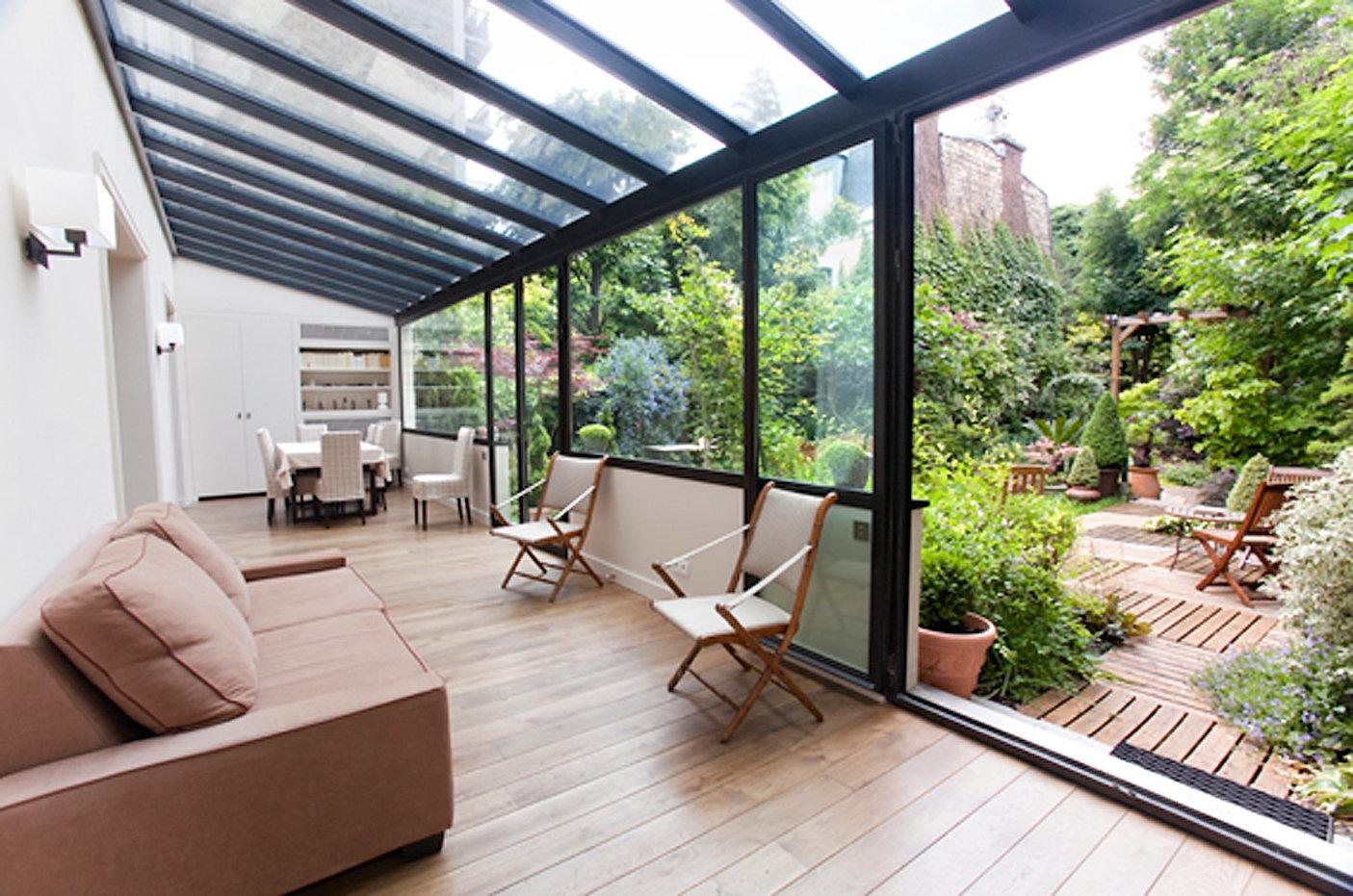 Populaire Le Jardin des Bauches, vu de l'intérieur VK51