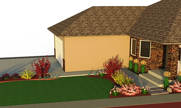 Landscaping Mulch Regina : On site landscape consultations to help you determine the best layout