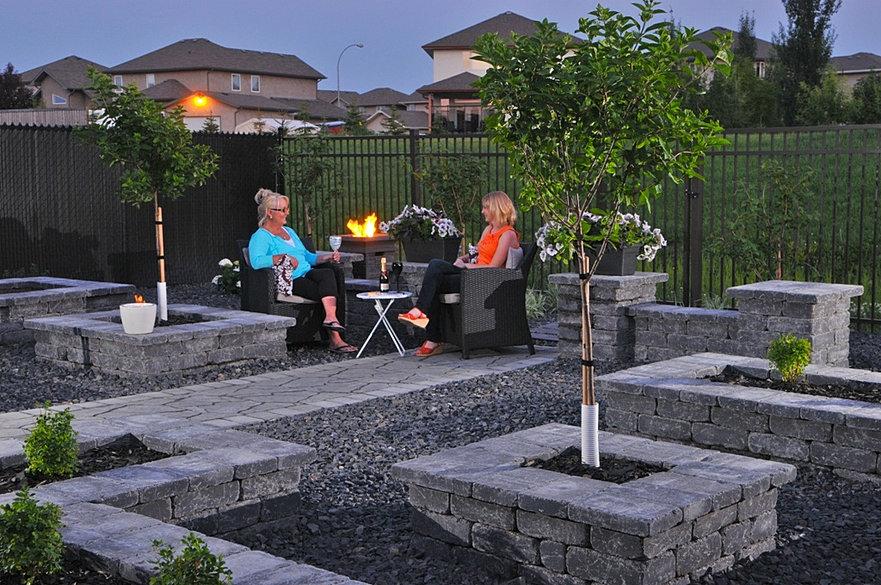 Palazzo designs landscape design regina sk home2 for The garden design sk
