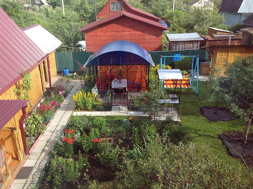 Обустроить садовый участок своими руками 511