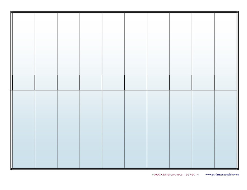 Parthenon Graphics Timelines – Blank Timeline Template