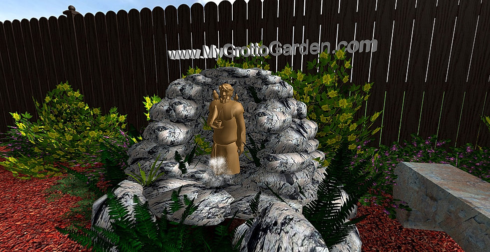 Grotto for Garden grotto designs