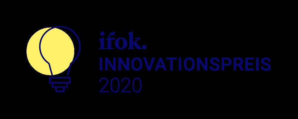 Winner of the ifok. innovation award!